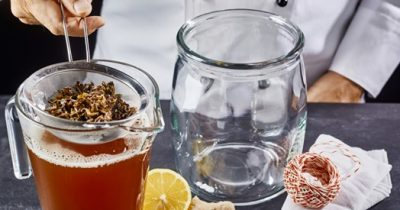 Kombucha o chá para candidiase