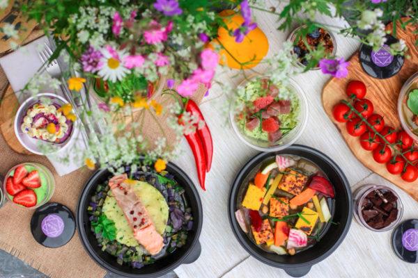 pratos da alimentação para candidiase