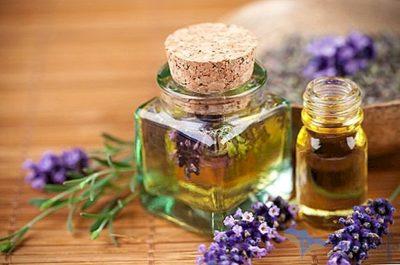 óleo de lavanda para a pele