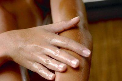 pele em tratamento da candidíase